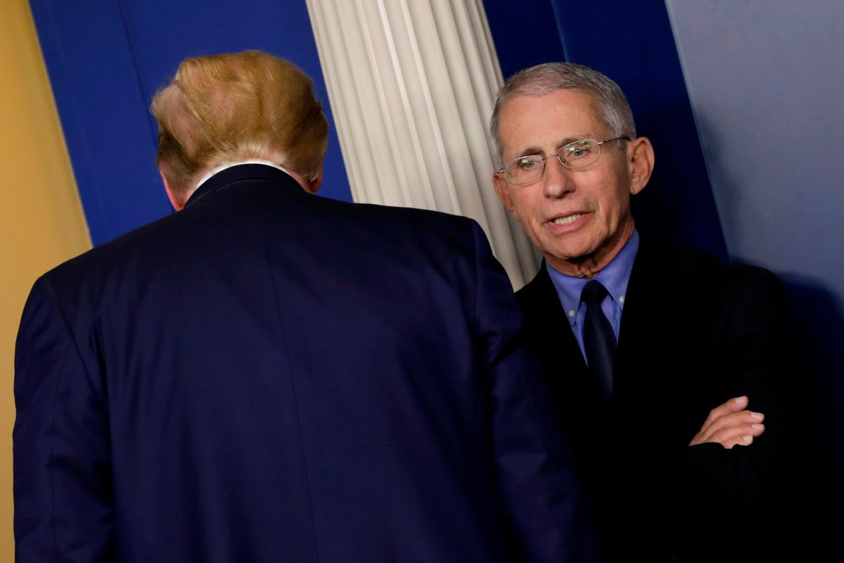 """Anthony Fauci relieved by Trump's departure: """"It's liberating"""" 