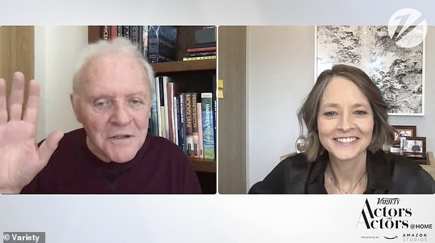 Anthony Hopkins and Jodie Foster reunite for 30th anniversary of The Silence of the Lambs