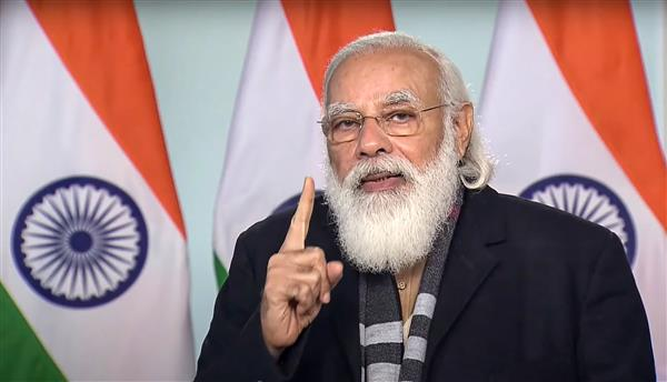 Approval for vaccines accelerates India's journey to be COVID-free, says Modi