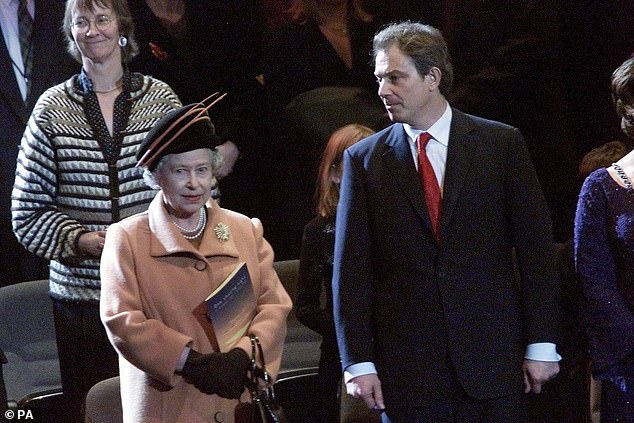 Are Blair's antics over Princess Diana the reason the Queen hasn't made him Sir Tony?
