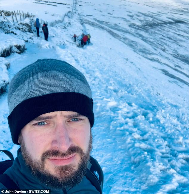 Army veteran climbs first of 50 mountains in memory of brother shot dead by Taliban in Afghanistan