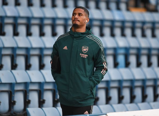 William Saliba has not been given a minute of senior football this season as the Gunners' defence ship goals