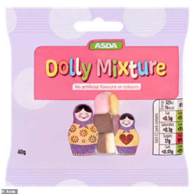 Asda removes cartoon characters from its own brand sweets