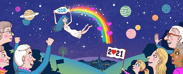 Astrologer OSCAR CAINER: Stars of 2021 say we can dare to dream again