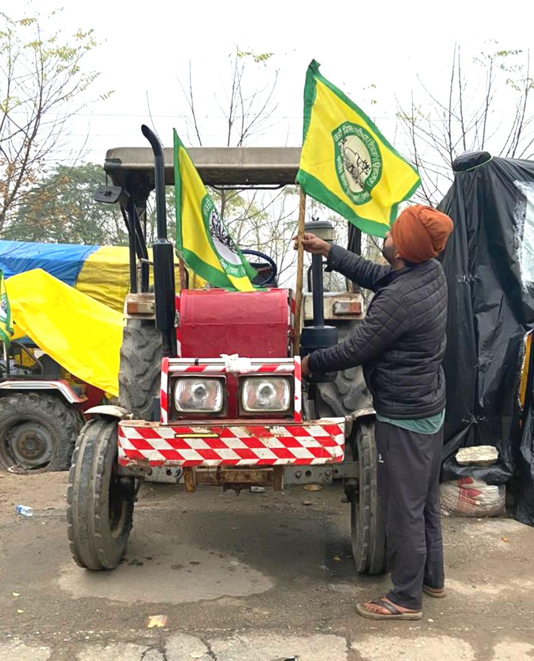 At Tikri border, farmers gear up for Thursday's 'tractor march'