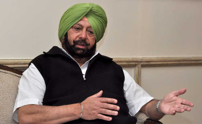 Baseless and malicious, says Capt Amarinder on allegations of deputing police officers to negotiate with farmers