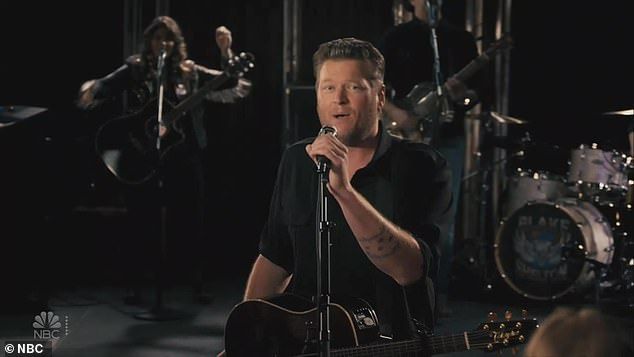 Blake Shelton is slammed for his new song after debuting it on NYE special