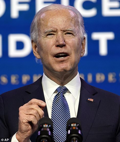 President-elect Jo Biden's transition team said he will release all available doses of coronavirus vaccines