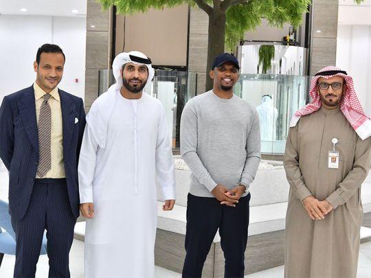 Cameron football legend Samuel Eto'o receives UAE Golden Visa