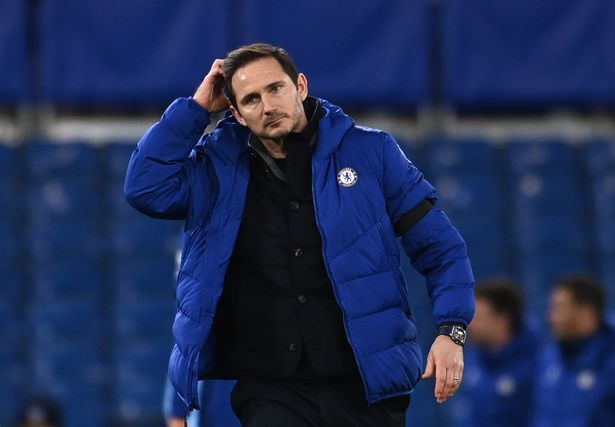 Frank Lampard is under pressure at Chelsea.