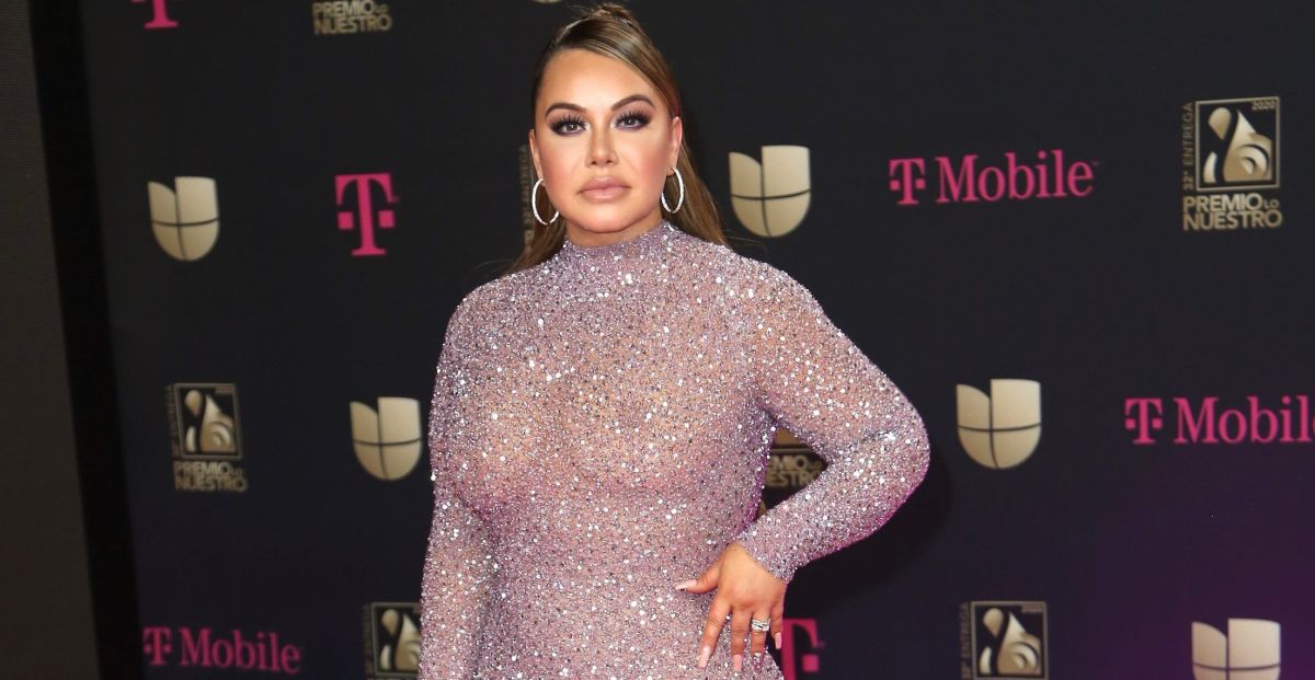 Chiquis Rivera's attributes were highlighted with an ultra-tight dress | The State