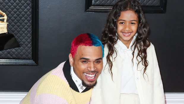 Chris Brown's Daughter Royalty, 6, Is So Cute Learning How To Ski in Big Bear – Watch