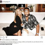 Chrissy Teigen and John Legend wish everyone'a happy, healthy and beautiful new year'