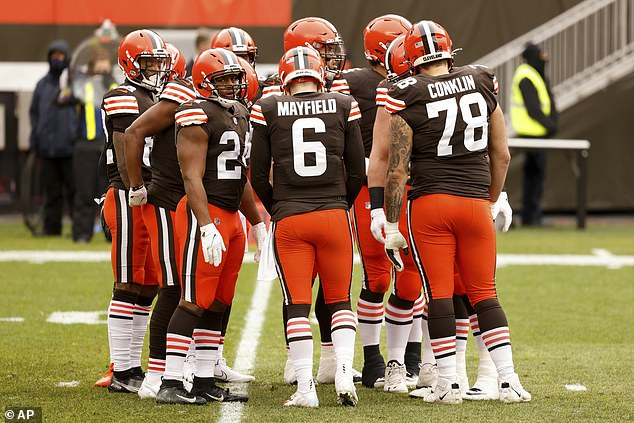Cleveland Browns suffer COVID-19 outbreak before the team's first playoff appearance since 2002