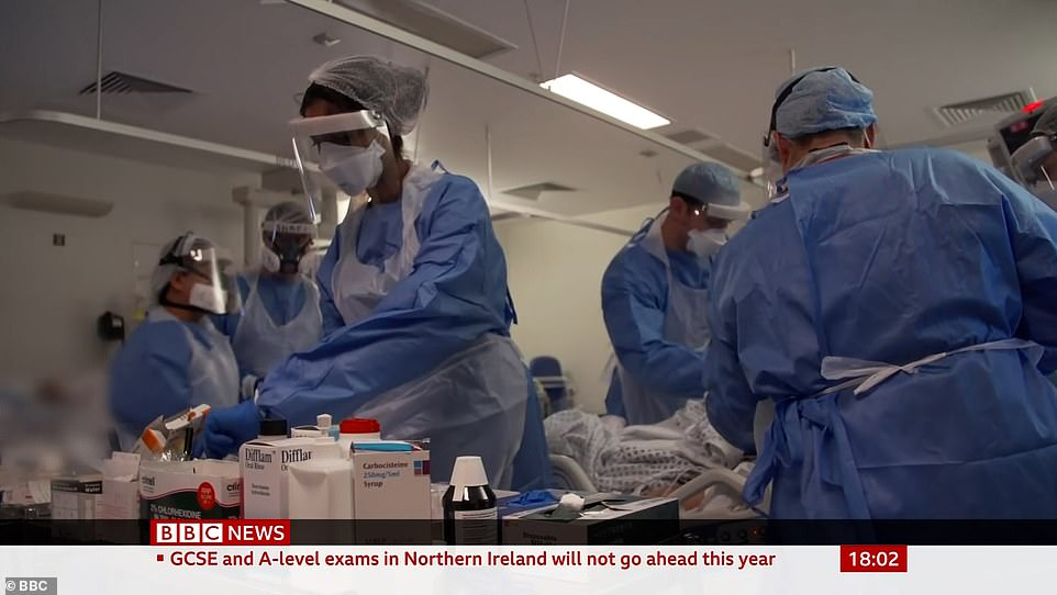 Coronavirus UK: London intensive care unit shows extent of crisis