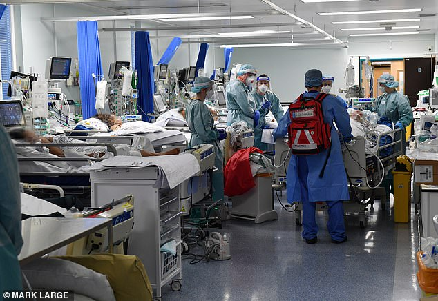 Covid UK: As a hospital opens its doors, ROBERT HARDMAN reveals the scale of the battle
