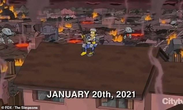 Did The Simpsons predict Capitol riots?