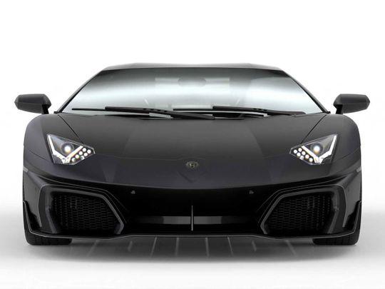 Dubai tuner pays tribute to Lamborghini Aventador