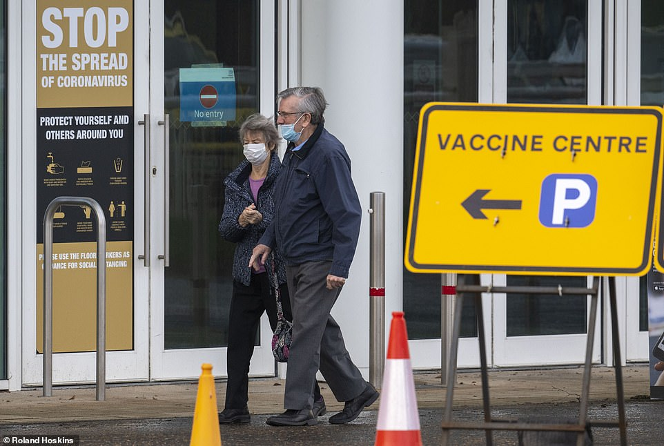 Elderly Britons are REFUSING Pfizer's vaccine because they'd rather 'wait for the English one'