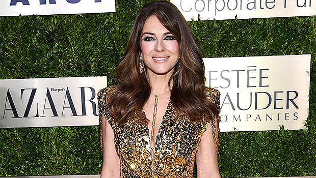 Elizabeth Hurley, 55, Dances On The Beach In A Tiny Bikini In Throwback Vacation Photo