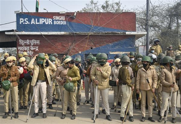 Farmers' protest: Security heightened at Singhu, Tikri and Ghazipur borders