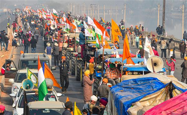 Farmers' protest: How the tractor parade went awry