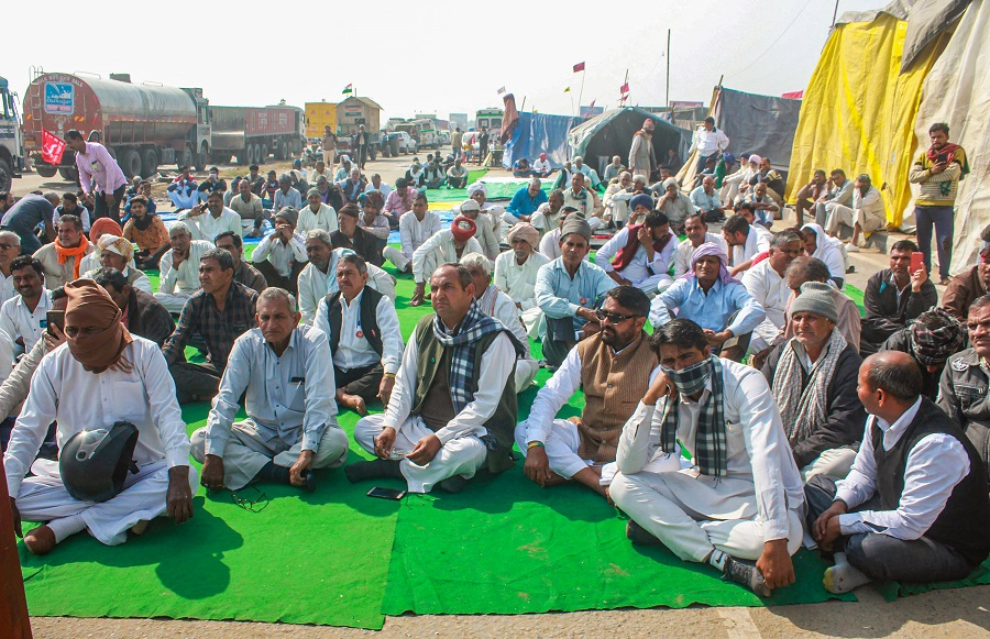 Farmers to hold 'Sadbhavna Diwas' on January 30, observe day-long fast
