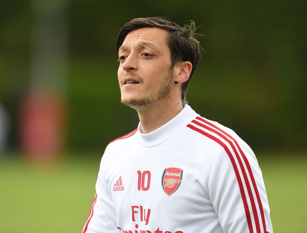 Ozil won't play for Arsenal's first-team again