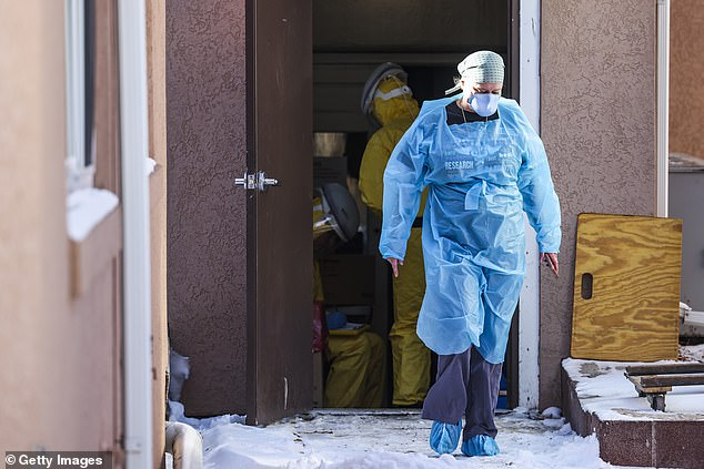 First US case of the UK's COVID strain found at a tiny nursing home in a Colorado town of 600
