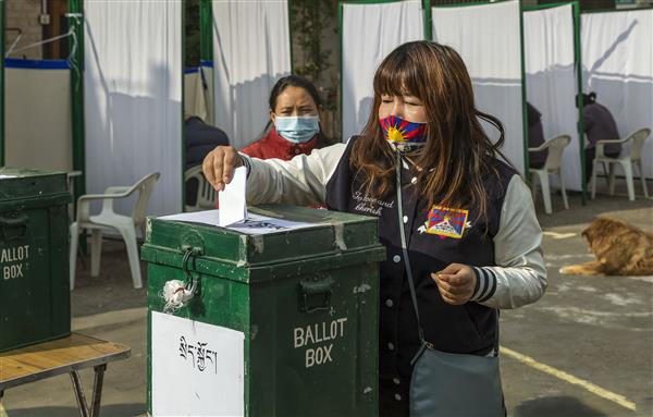 First phase of elections held for next Tibetan parliament-in-exile