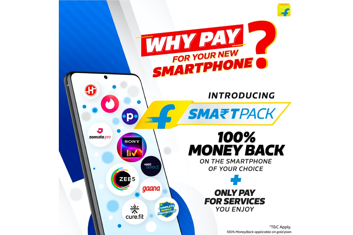 Flipkart SmartPack Offers 100% Moneyback on Top Smartphones in India