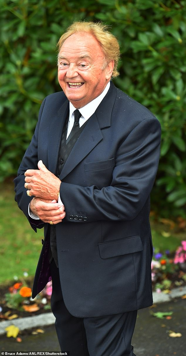 Sad news:Gerry Marsden has died age 78 following a short illness [pictured in 2015]
