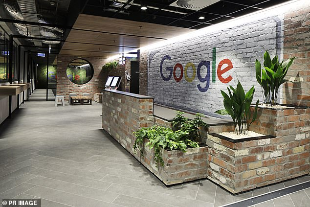 Pictured is the Melbourne office of Google