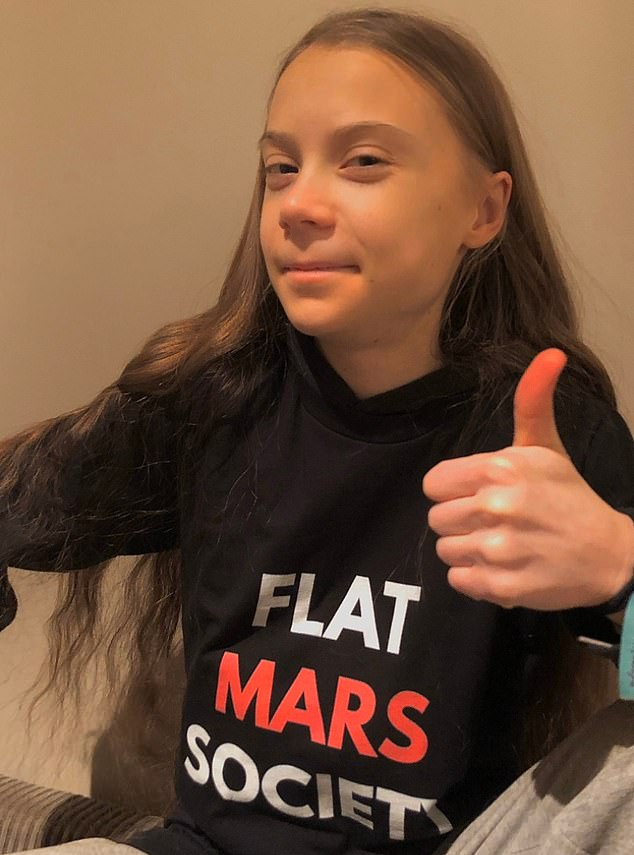 Greta Thunberg jokes in 18th birthday tweet that her 'evil handlers can no longer control her'