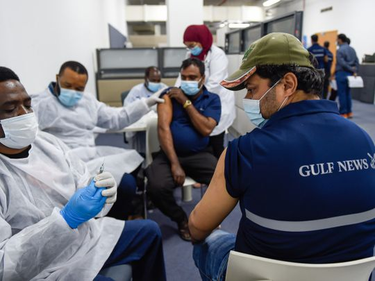 Gulf News organises vaccination campaign to protect staff and readers