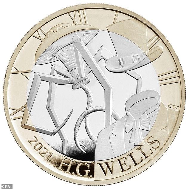 HG Wells fans slam errors on new commemorative Royal Mint coin