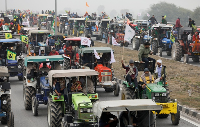 Haryana authorities issue travel advisory in view of farmer's tractor parade