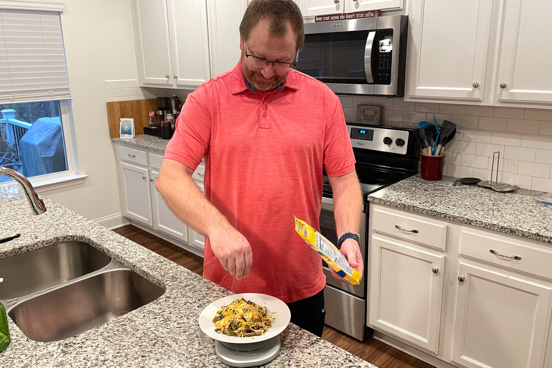 Healthier 2021: Bill Is Tracking His Food and Seeing Results