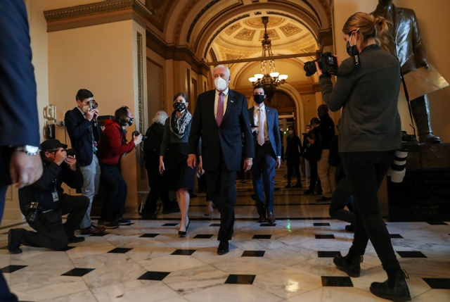 House impeaches Trump after US Capitol siege; his fate in Senate hands