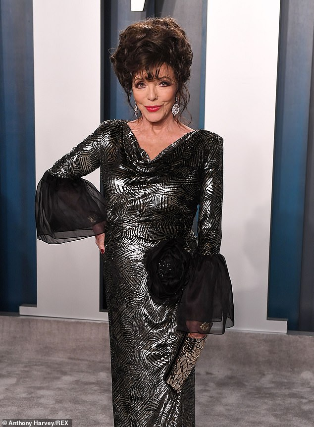 I turned down Bobby Kennedy, says Joan Collins as she joins her friend PIERS MORGAN for lunch