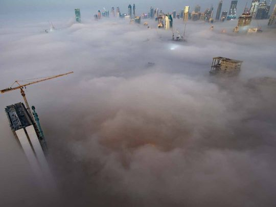 In pictures: Dense fog hits UAE for the fifth day