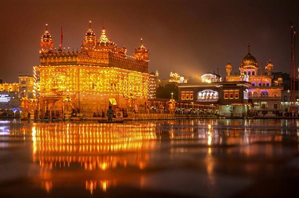 In pictures: Thousands throng gurdwaras on Guru Gobind's 'Prakash Purb'