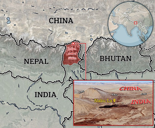 Indian and Chinese soldiers brawl on Himalayan border with casualties on both sides