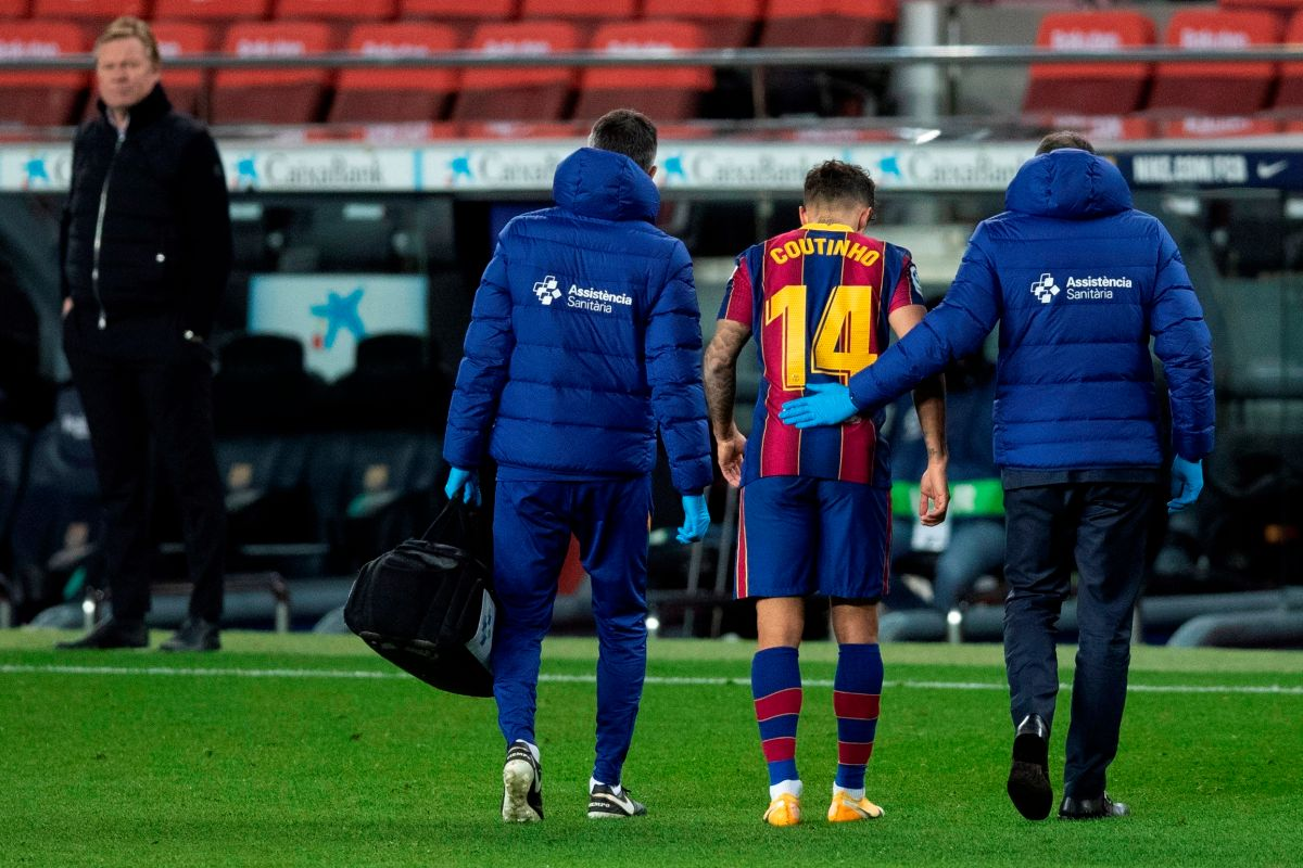 Injuries are raging on Barcelona: Coutinho has already undergone surgery and will be out for three months | The opinion