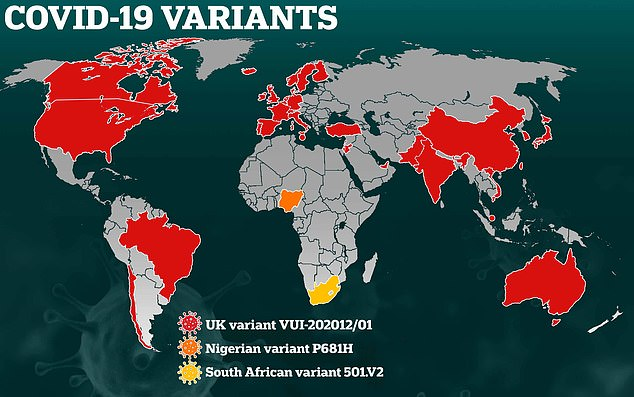 Is super-infectious South African coronavirus in the US?