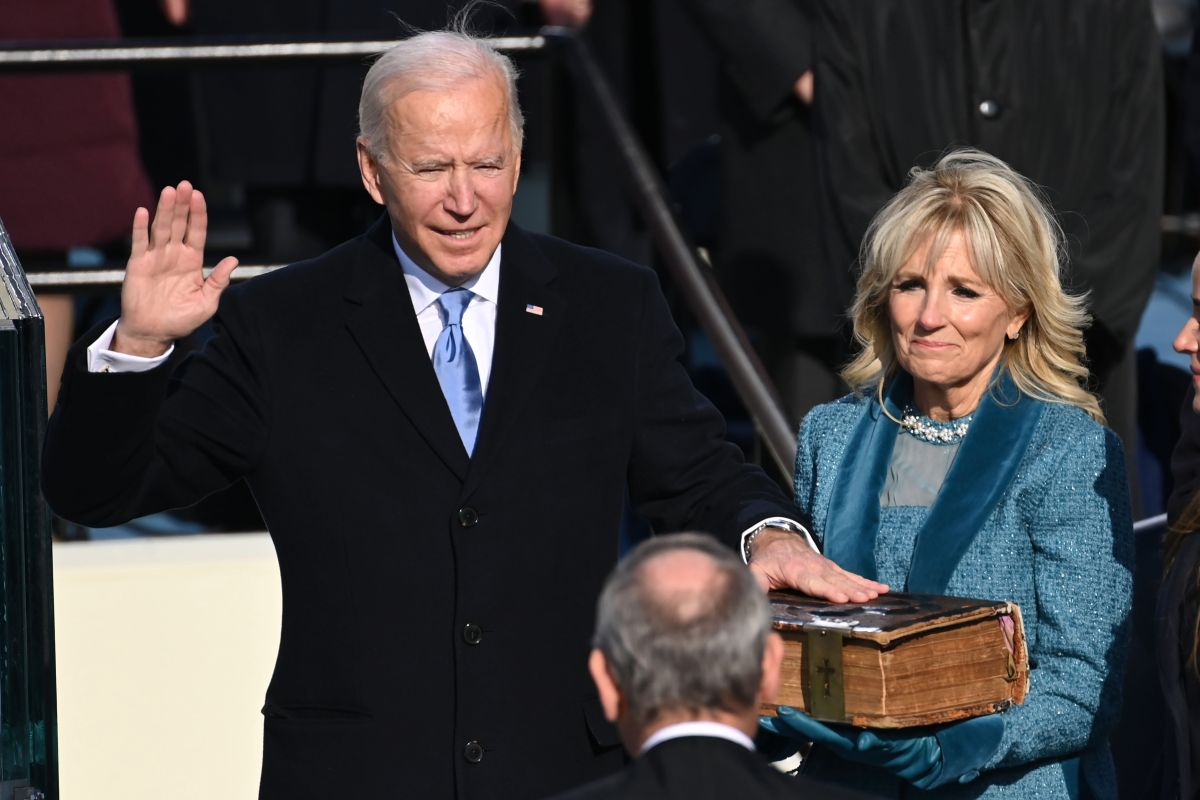 Joe Biden Swore On A Bible That Has Been In His Family For 130 Years | The State
