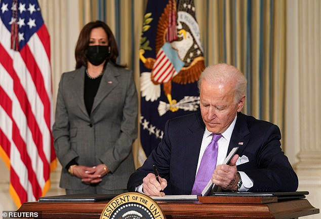 Joe Biden signs executive orders that deal with racial equity