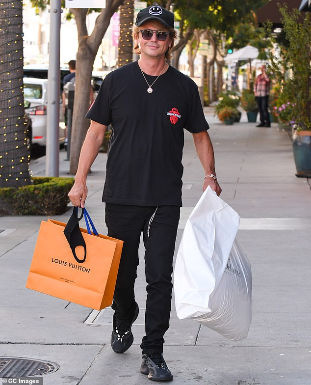 Out of commission: Jonathan Cheban has not been seen much this year. That is because the star, who changed his name to FoodGod, has been recovering from COVID-19, DailyMail.com has learned exclusively. Seen in October 2020 in Beverly Hills