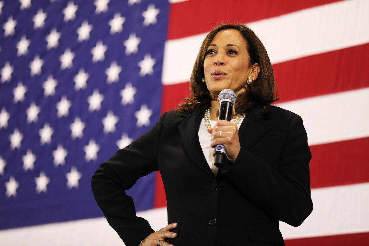 "Kamala Harris: ""We need a $ 2,000 stimulus check"" 