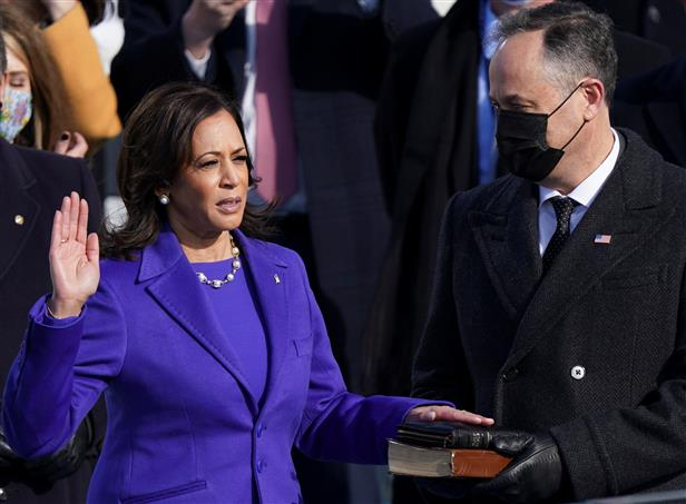 Kamala Harris breaks the glass ceiling